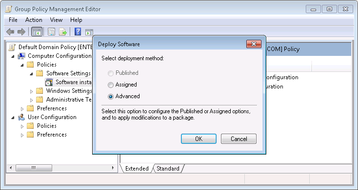 Group Policy Distribution